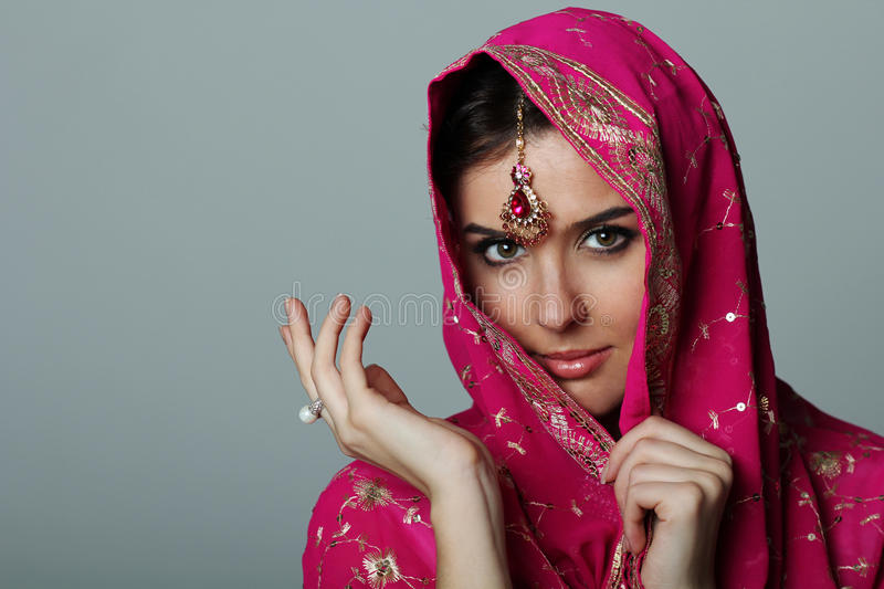 Sari royalty free stock image