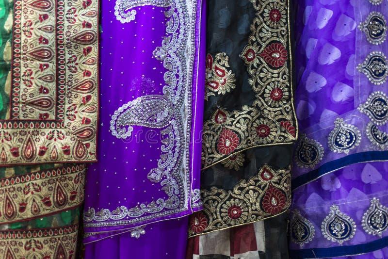 Sari Fabric images libres de droits