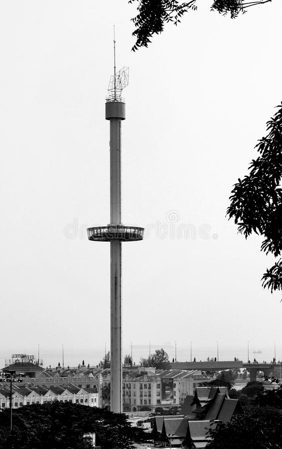 Sari Tower domesticando fotografia de stock royalty free