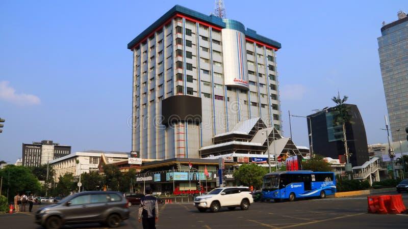 Sarinah Thamrin Plaza arkivbild