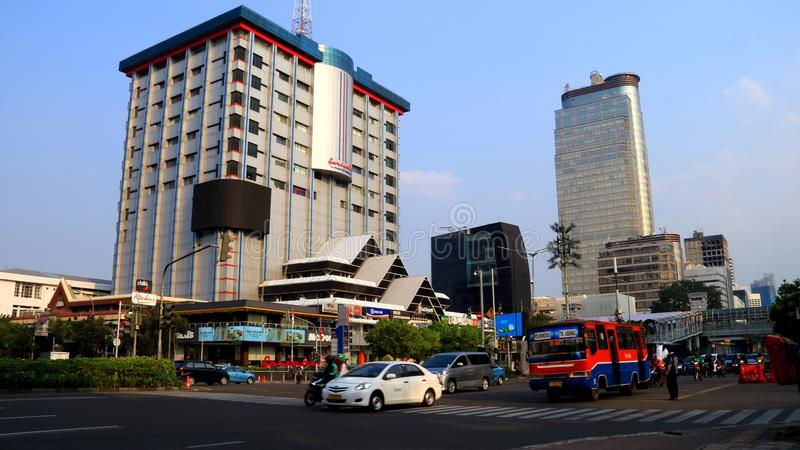 Sarinah Thamrin Plaza royaltyfria bilder