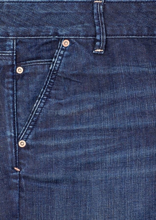 Sarja de Nimes do azul do Close-up. fotos de stock