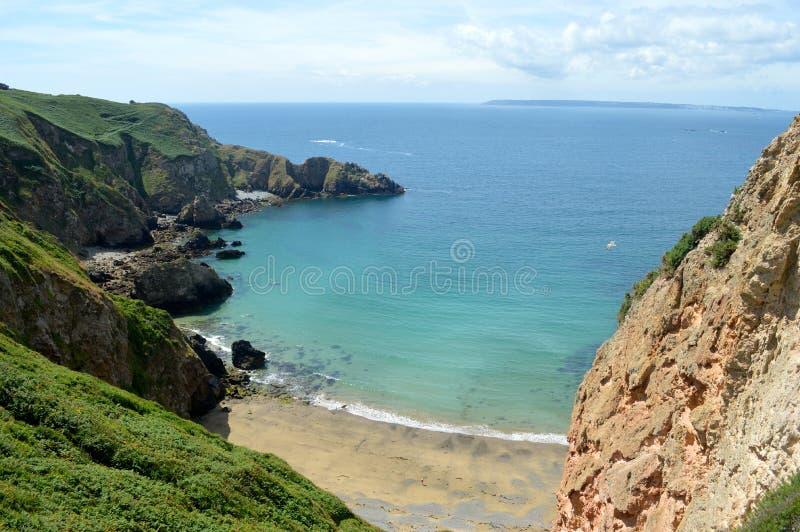 Sark Beach stock photos