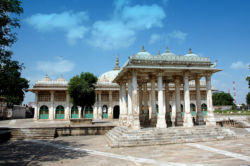 Sarkhej Roja, Ahmedabad, India. HISTORICAL IMPORTANCE Sarkhej Roza comprises one of the most elegant and unique architectural complexes of Ahmedabad. In its stock photo