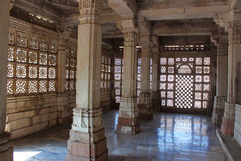 Sarkhej Roza, Ahmedabad, Gujarat India stock afbeelding