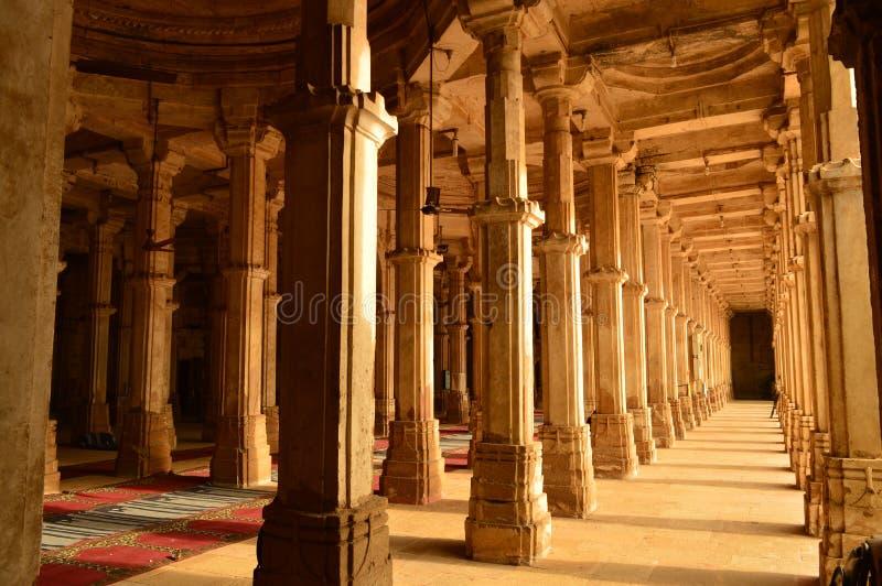 Sarkhej Roza Dargah em Ahmedabad, Gujarat fotografia de stock royalty free