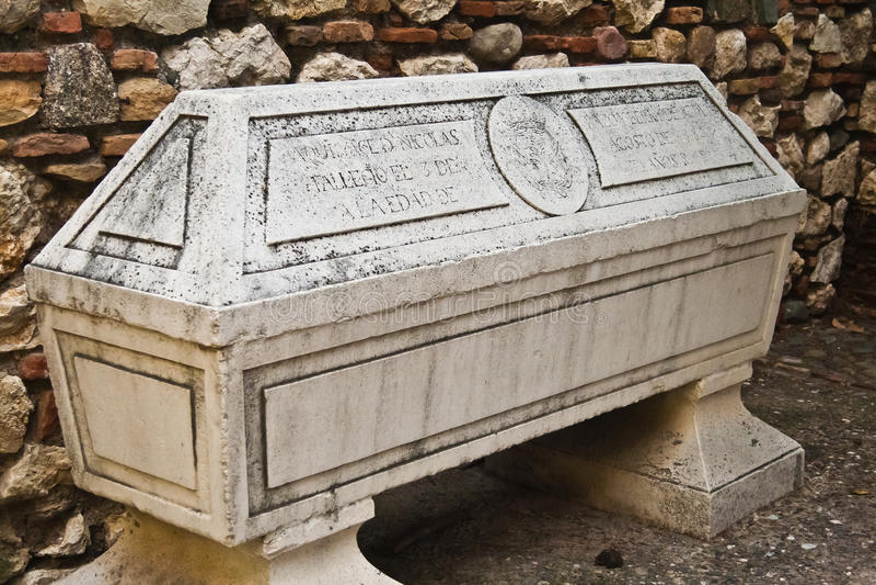 sarkofag fotografia stock
