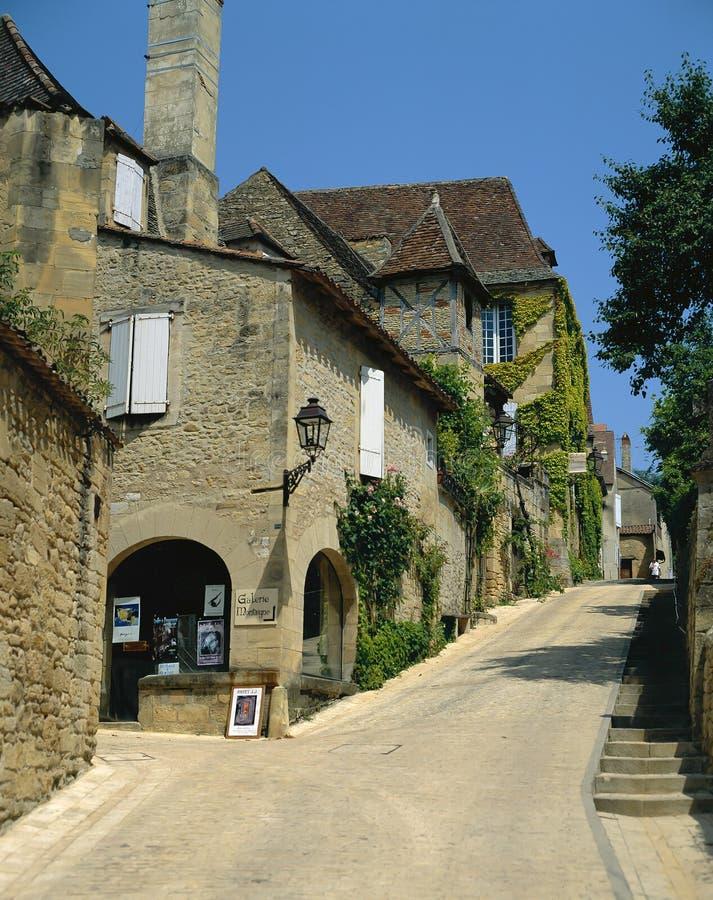Sarlat, Dordogne Γαλλία στοκ εικόνες