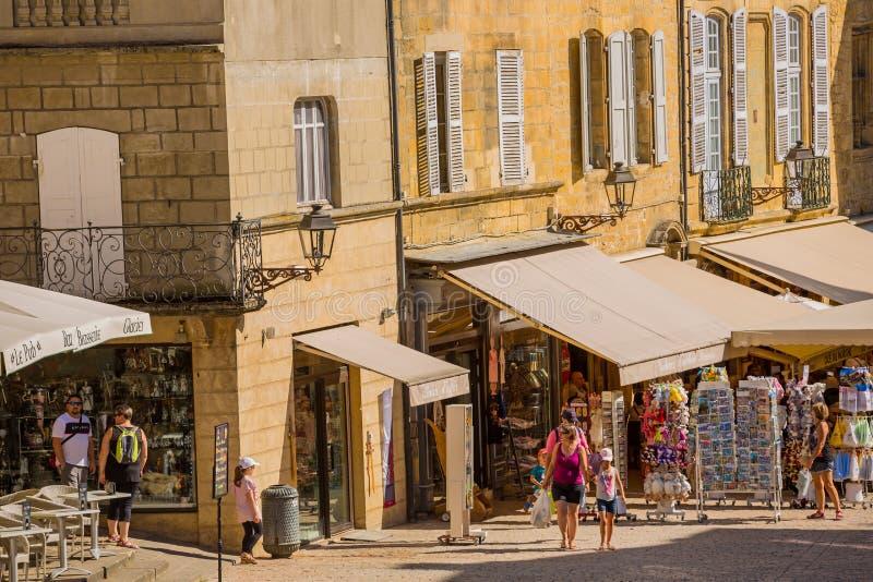 Sarlat-la-Caneda, France photographie stock