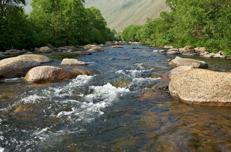 Sarma river. Western shore of Lake Baikal stock photos