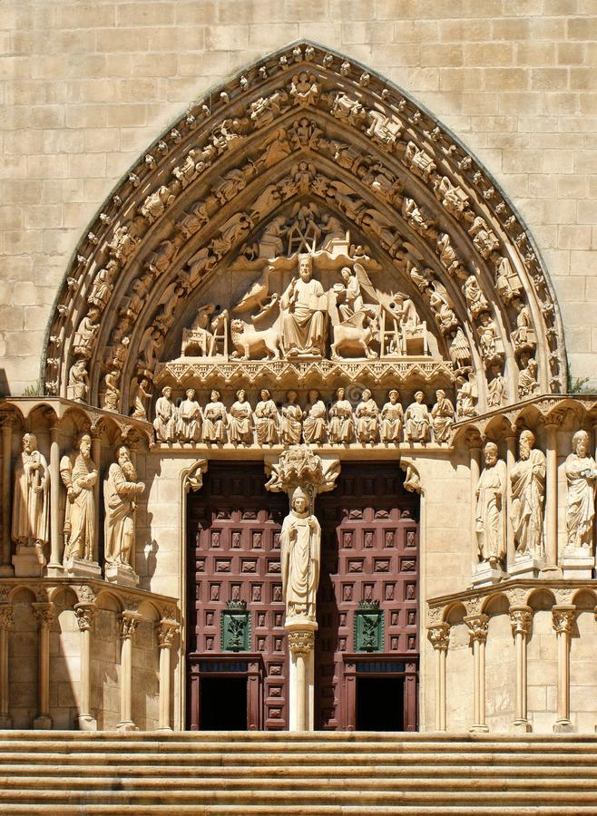 Download The Sarmental Door Of Burgos Cathedral Stock Image - Image of spain, sarmental: 27592463