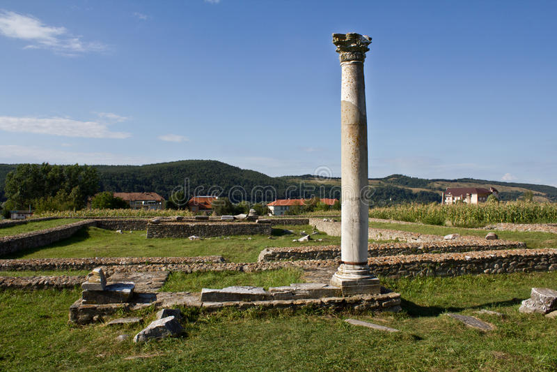 Sarmisegetuza Ruinen stockbild