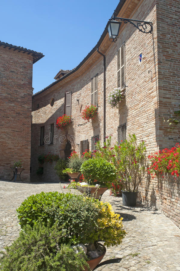 Download Sarnano (Macerata, Marches, Italy) Stock Photo - Image: 20791276