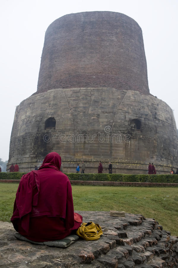 SARNATH royaltyfri foto