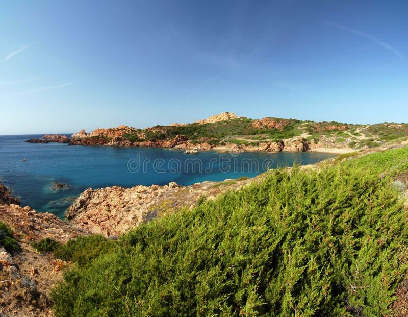 Download Sarninian bay stock photo. Image of isola, costa, holiday - 12609442