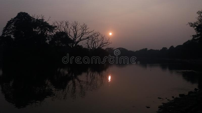 Sarobar lake royalty free stock images