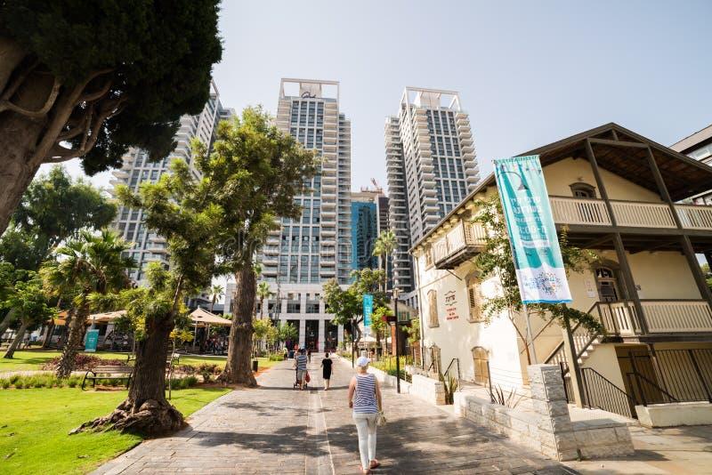 Sarona a Tel Aviv fotografia stock libera da diritti
