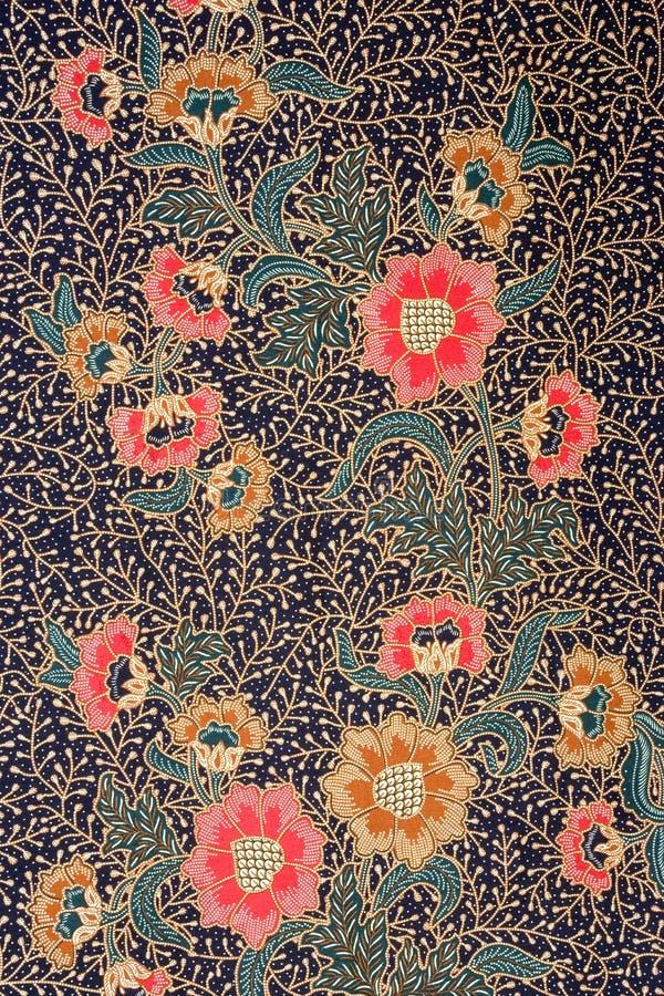 sarong индонезийца батика стоковые фотографии rf