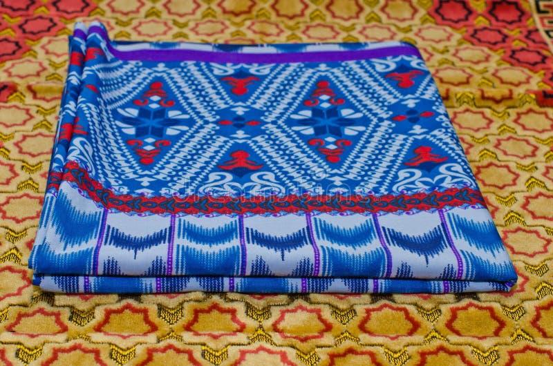 Sarong. royaltyfria bilder