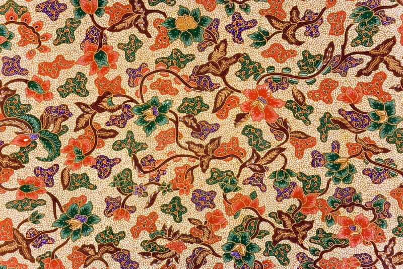 Sarong indonesiano del batik fotografia stock libera da diritti