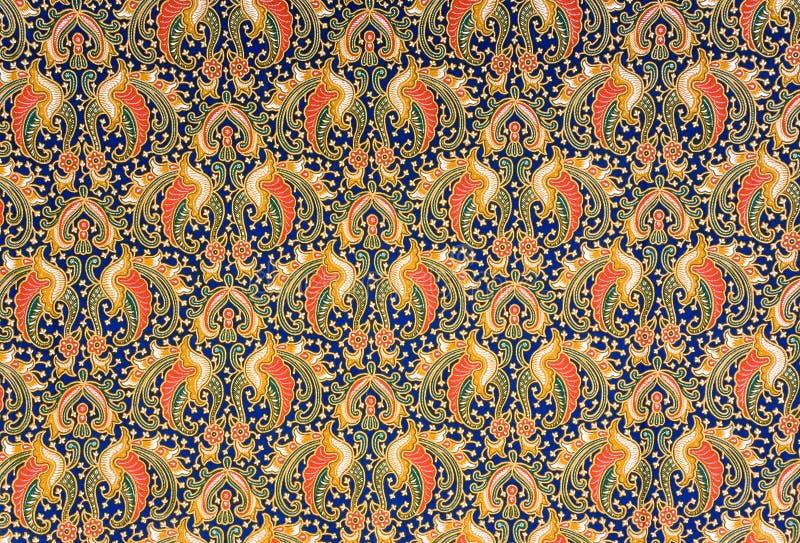 Sarong indonesiano del batik fotografie stock libere da diritti