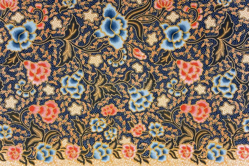 Sarong indonesio del batik foto de archivo libre de regalías