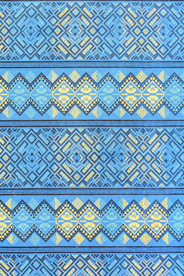 Sarong pattern. Traditional batik sarong pattern for a background royalty free stock photography