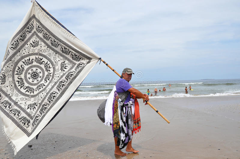 Download Male Sarong Seller editorial stock image. Image of coverup - 30094474