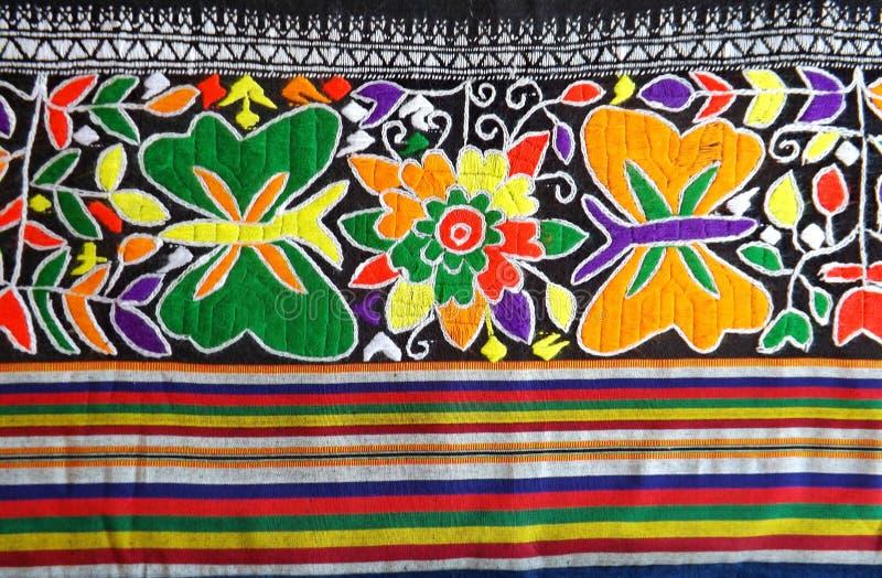 Sarong Teenjok Northern Traditional Weaving in Thailand stock image