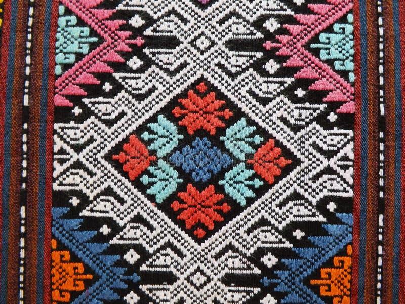 Sarong Teenjok Northern Traditional Weaving in Thailand royalty free stock photos