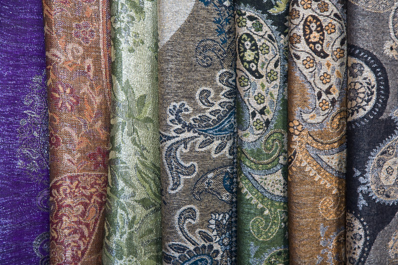 Sarongs de batik photos stock