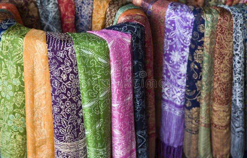 Sarongs de batik image libre de droits