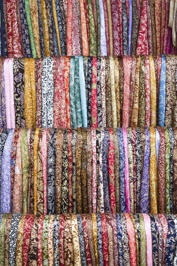 sarongs de batik images stock