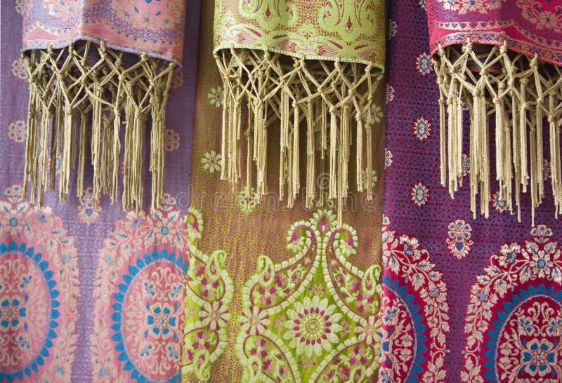 Sarongs del batik fotografia stock libera da diritti