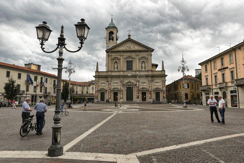 Saronno Italien: Kirche der Heiligen Peter und Pauls stockfoto