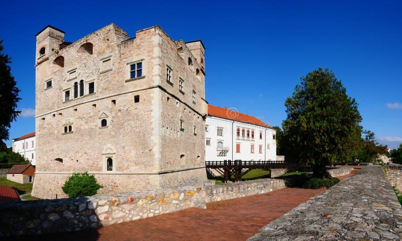 Sarospatak castle royalty free stock image