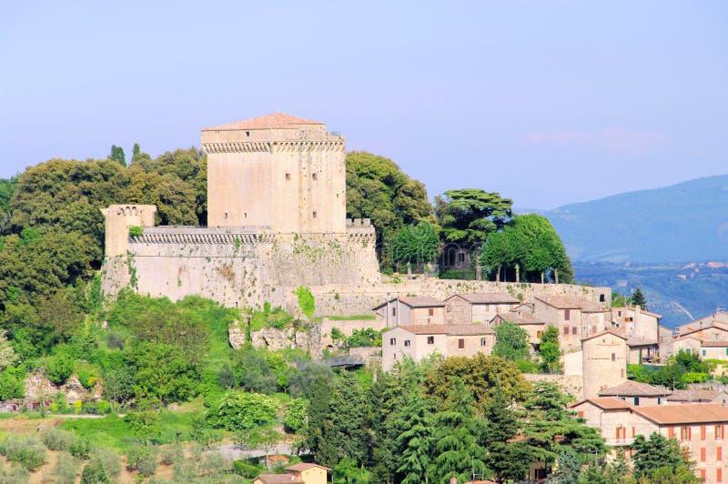 Sarteano royaltyfria bilder