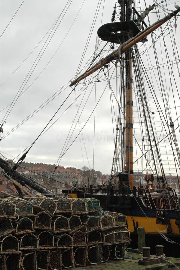 Sartiame della nave fotografia stock libera da diritti
