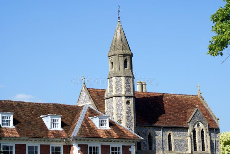 Sarum Colledge в Солсбери, Уилтшире, Англии стоковое фото rf
