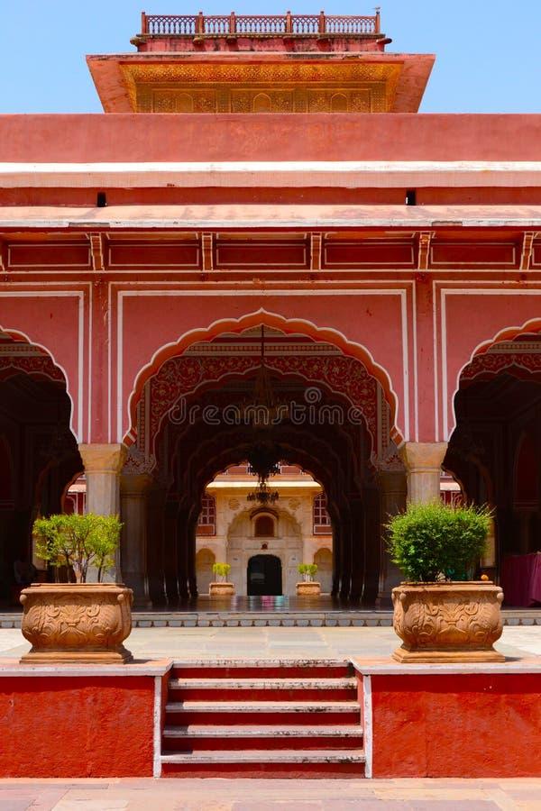 Sarvatobhadra/Diwan-E-Khas-城市宫殿,斋浦尔 库存照片