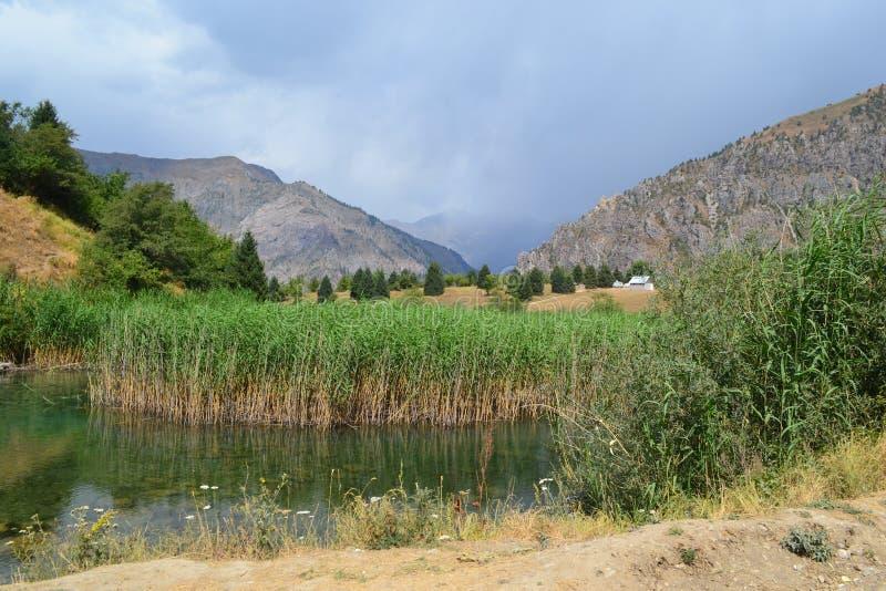 Sary-Chelek, Кыргызстан стоковое изображение rf