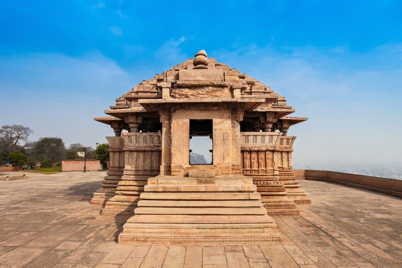 Sas Bahu świątynia zdjęcie royalty free