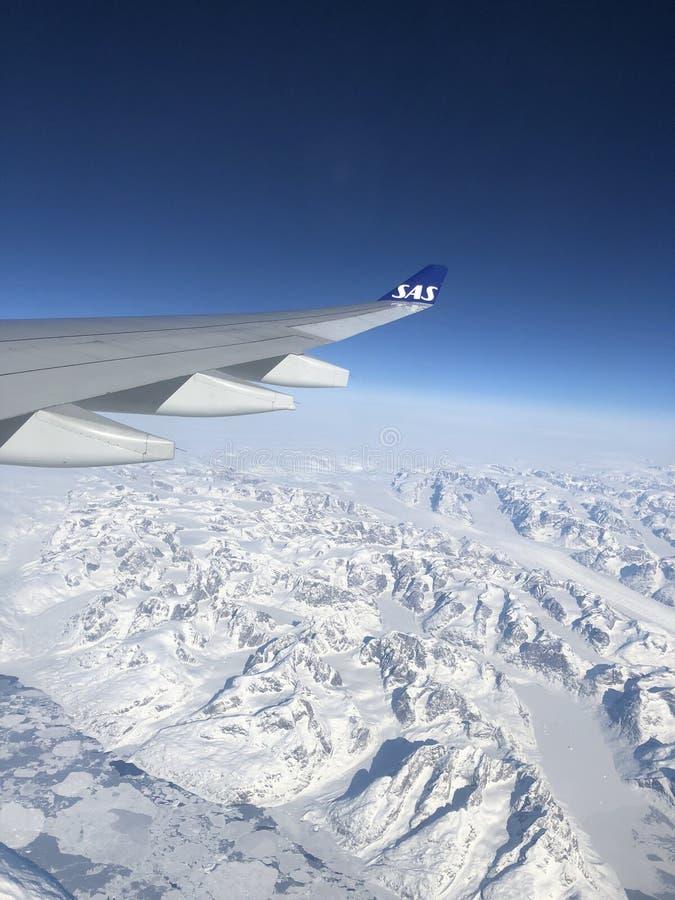 SAS van Groenland royalty-vrije stock foto