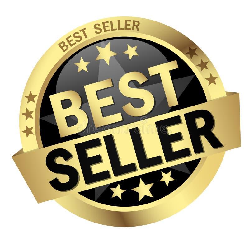 SASButton com o melhor vendedor da bandeira imagens de stock royalty free