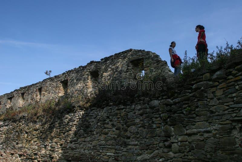Saschiz-Festung stockfoto