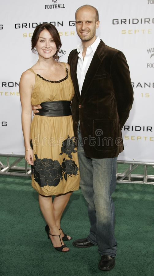 Sasha Alexander. At the Los Angeles premiere of `Gridiron Gang` held at the Grauman`s Chinese Theatre in Hollywood, California United States on September 5 royalty free stock photo