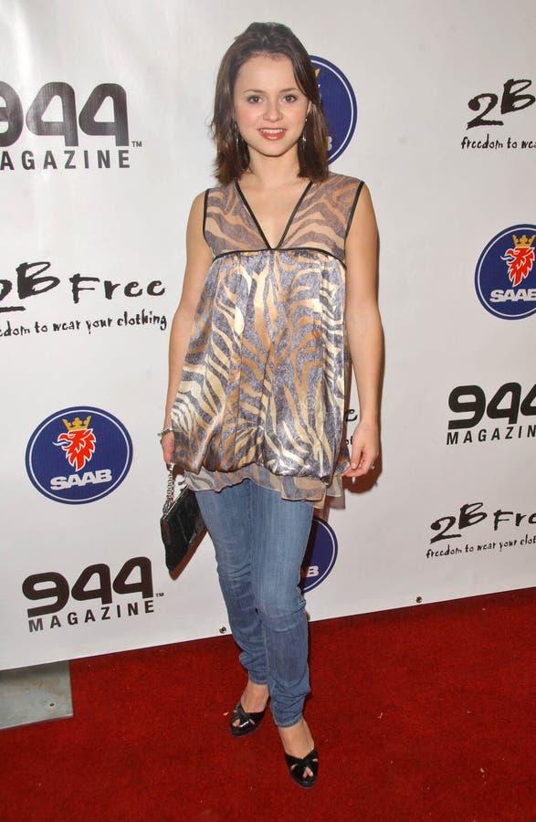 Sasha Cohen royalty-vrije stock foto