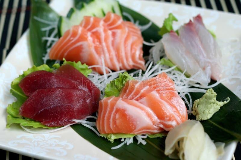 sashimi μιγμάτων στοκ εικόνες