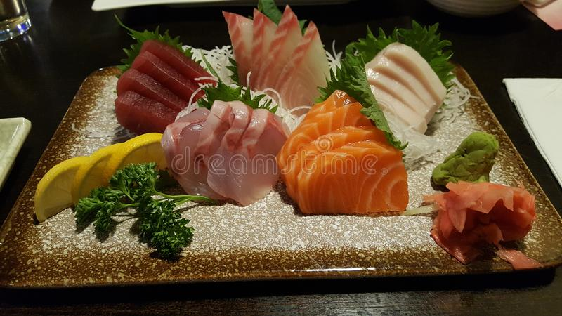Sashimi fotografie stock libere da diritti