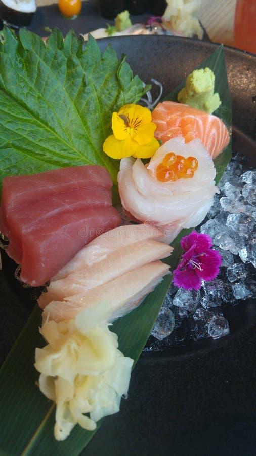 Sashimi imagen de archivo libre de regalías